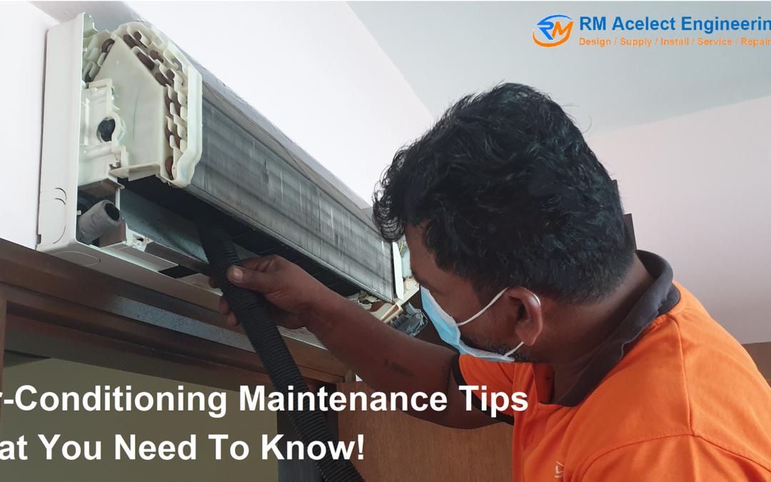 Aircon servicing tips