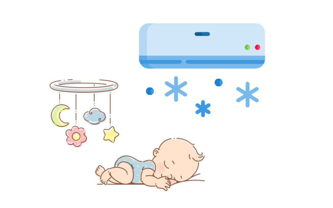 Things to look out for before putting your baby to sleep in an Air-Conditioning room ..!